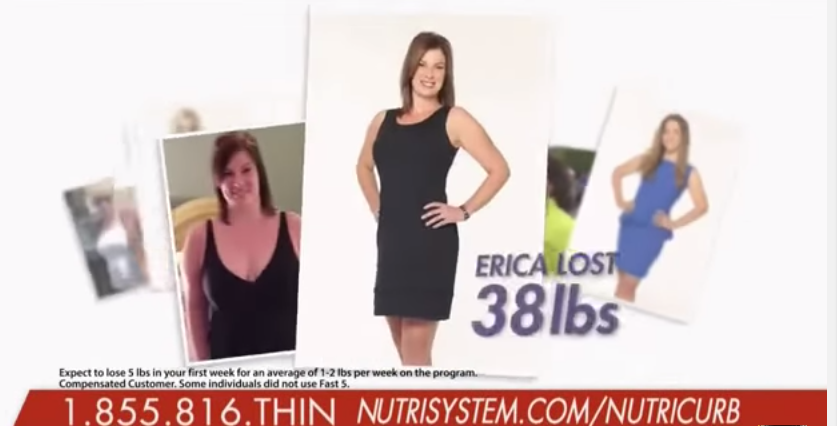 Erica Penrod Nutrisystem Before and After