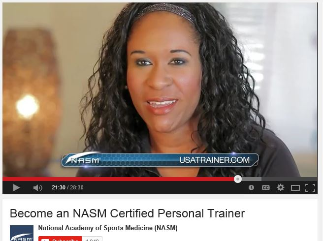 Become an NASM Certified Personal Trainer . Cherie Steffen