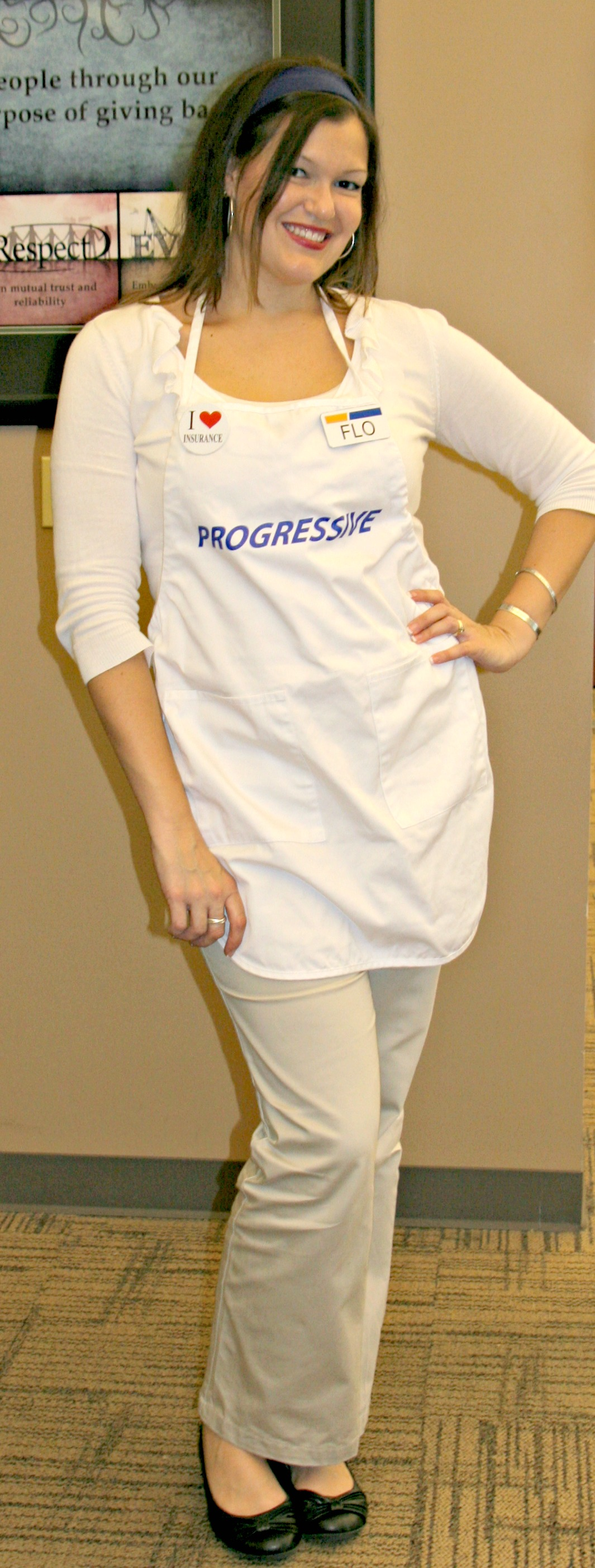 Flo from Progressive Halloween Costume I ABG Capital Blog
